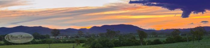 Sunset Beaudesert HDR Panorama
