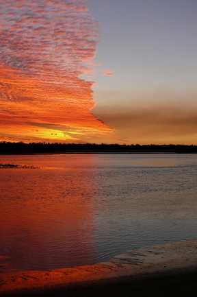 Woodgate Sunset