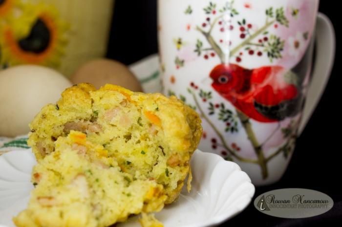 Food Photography - Gluten Free Savoury Muffin